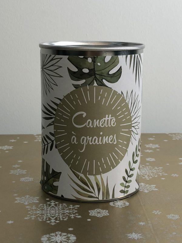 canette graines jobpack